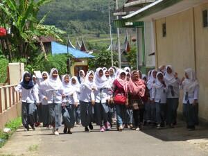 ontwikkeling, schoolklas Indonesie